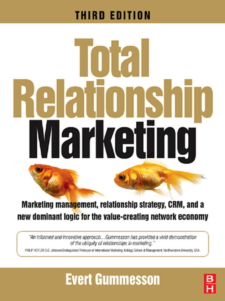 Total Relationship Marketing Third Edition Marketing management ...